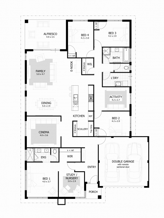 Wonderful 3 Bedroom House Plan On Half Plot Awesome Amazing House Plans Best Pictures Of Houses On A Half Plot Of Land In Ghana Pic