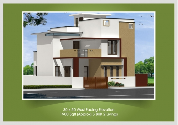 Wonderful 30X40 House Plan And Elevation - Homes Floor Plans Front Elevation Of Indian House 30x50 Site Photo