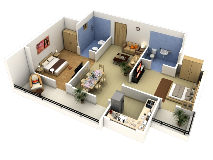 Wonderful Extraordinary House Planner 3D Free 10 Floor Plan Creator Designer 3d House Planner Free Photo