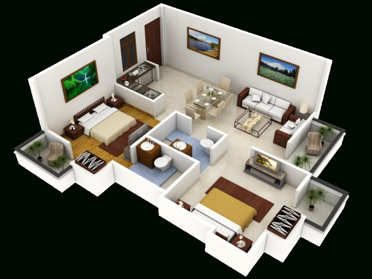 Wonderful Home Design: Draw D House Design – Design And Planning Of Houses 3D 3d House Planner Picture
