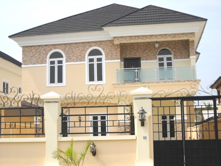 Wonderful Own Beautiful Houses In Nigeria - Village, Lagos (Island/lekki Beautiful House Designs In Nigeria Image
