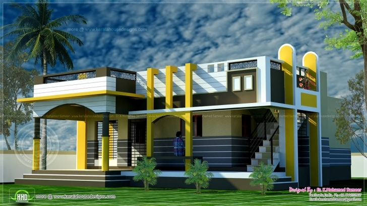 Wonderful Small House Design Contemporary Style Indian Plans - Building Plans Small House Plans Indian Style Photo